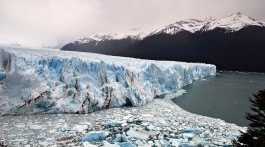Rotura do glaciar Perito Moreno