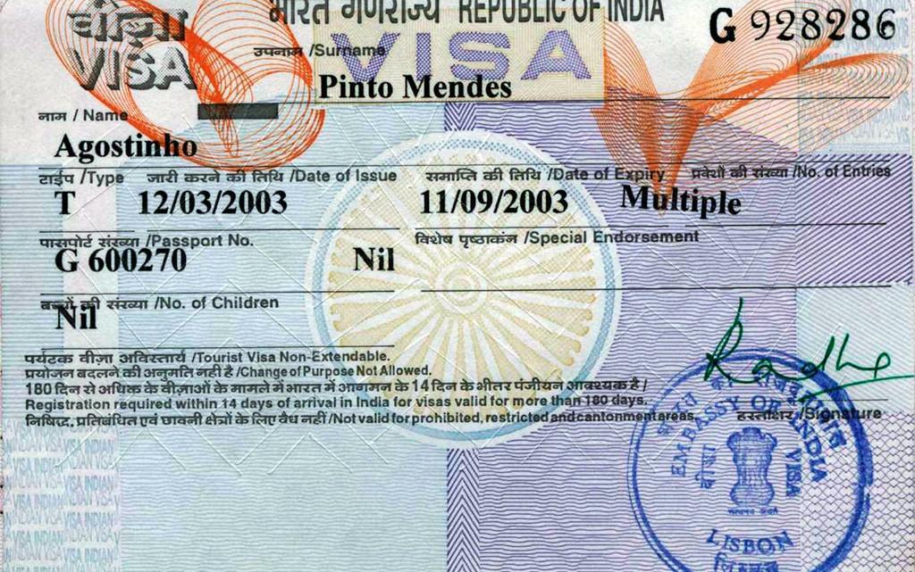 Visto de Turismo para Índia