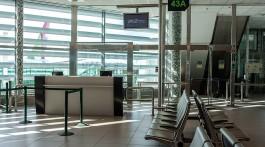 sala de embarque no aeroporto de lisboa