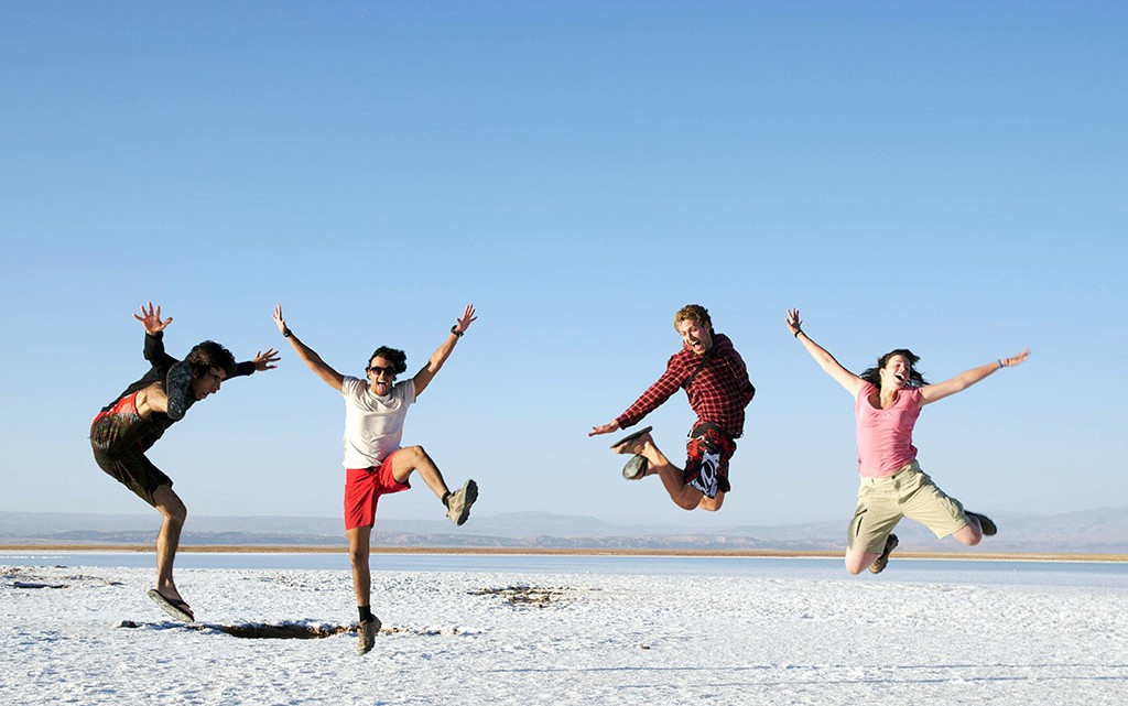 Deserto de Sal no Atacama