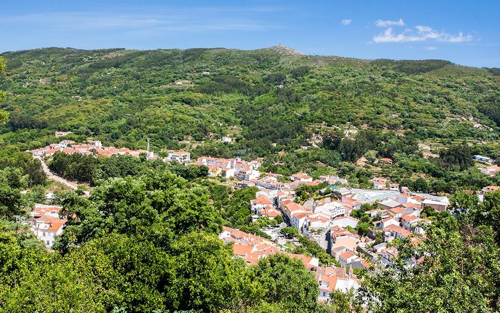panoramica da Vila de Monchique