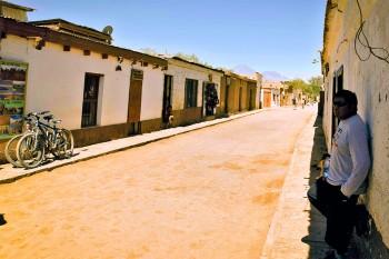Rua em San Pedro de Atacama