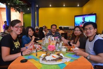 Restaurante em La Paz