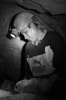 Extracção minério em Potosi