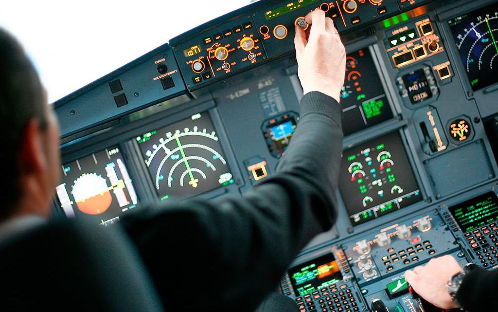 cockpit de avião