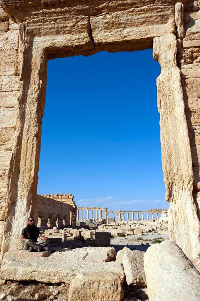 Filipe Morato gomes em Palmyra