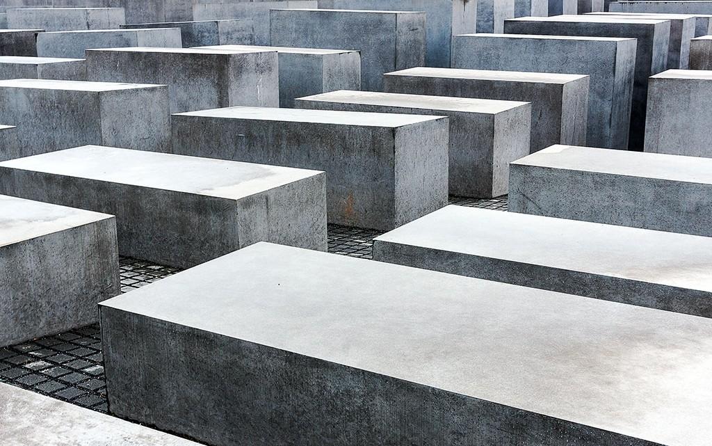 blocos betão memorial holocausto berlim