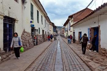 Rua em Cuzco