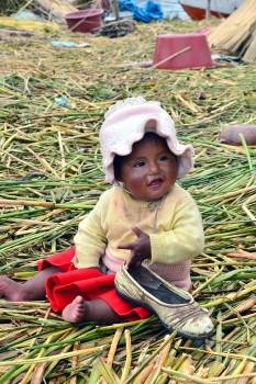 Criança peruana