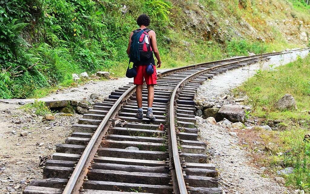 Caminho de ferro para Machu Picchu