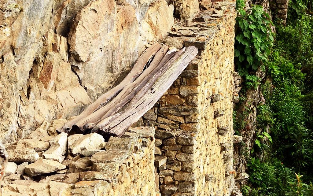 Trilho construido pelos Incas
