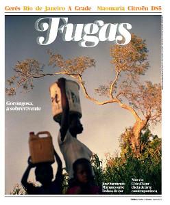Capa da revista Fugas do jornal Público