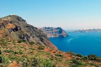 paisagem em Thirassia