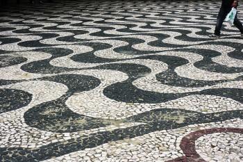 calçada em Manaus