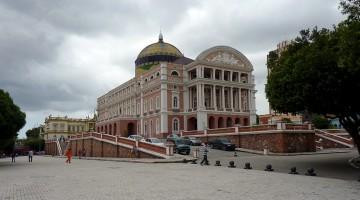 Praça do Congresso em Manaus