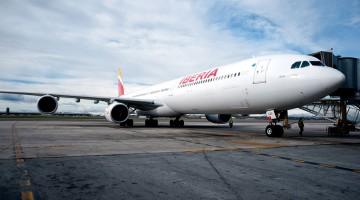 avião Iberia Airbus A340-600