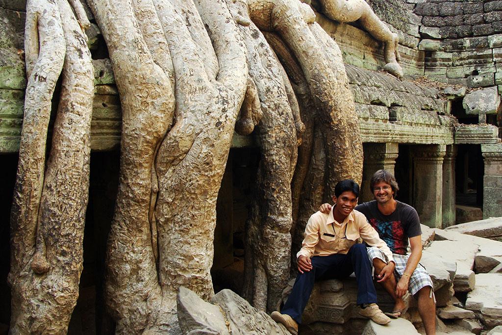 Jorge Vassallo em Angkor