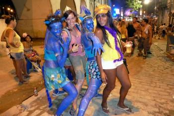 Carnaval na Lapa no Rio de Janeiro
