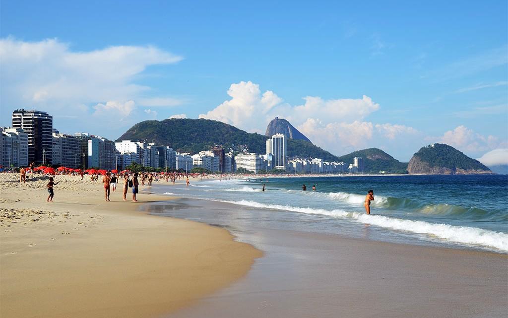 Copacabana no Rio de Janeiro