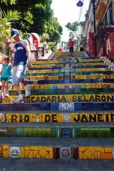 Escadaria de Selaron no Rio de Janeiro