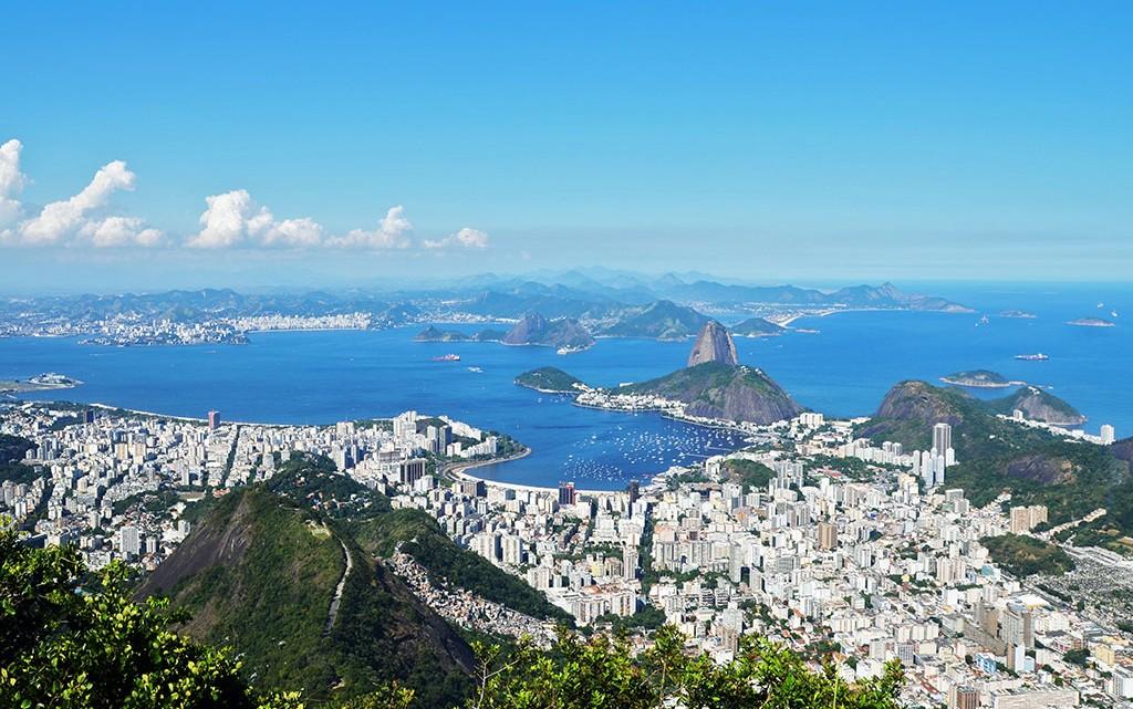 Rio de Janeiro desde o Corcovado