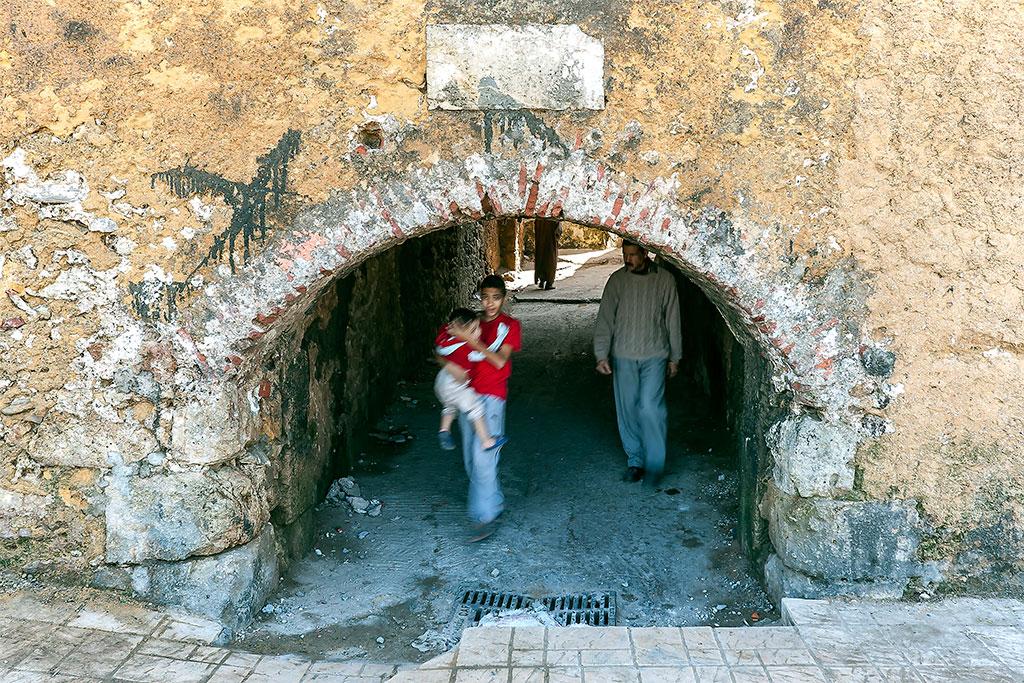 entrada oesta da cidadela