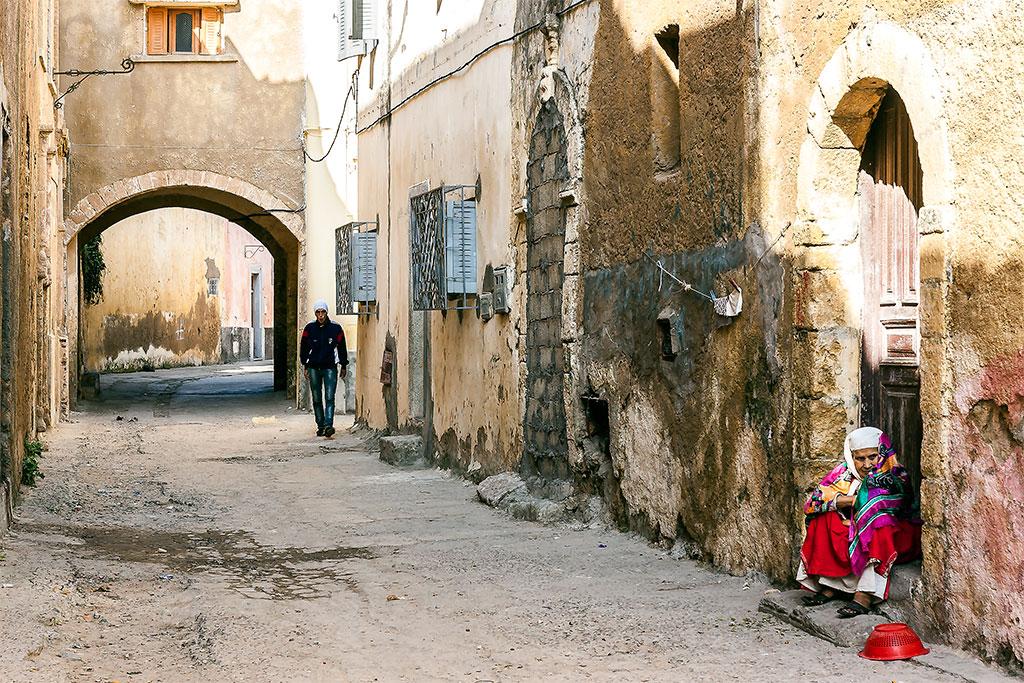 rua típica de mazagão
