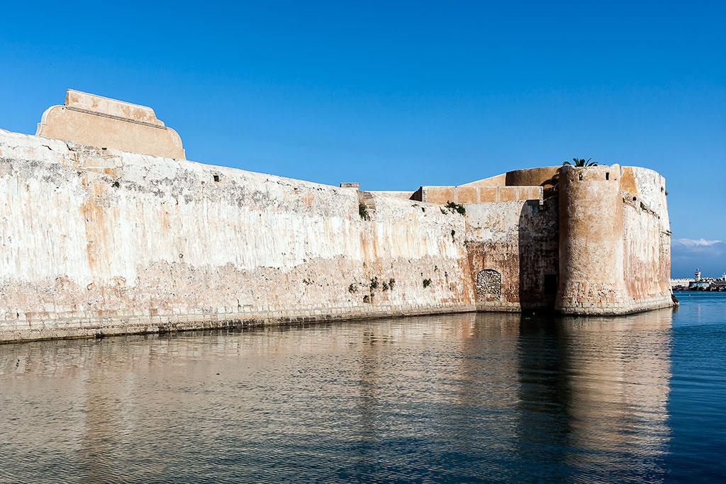 muralha sul junto ao fosso