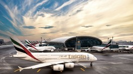 Frota emirates no Dubai