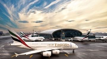 Frota emirates no Dubai
