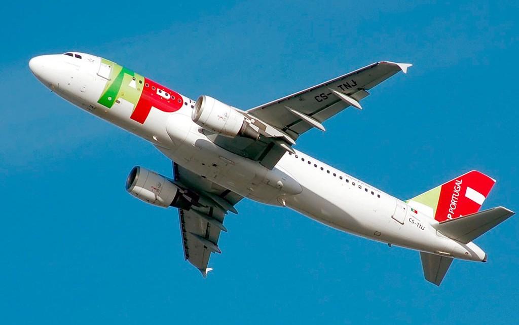 avião TAP Airbus A320