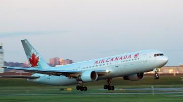 Avião Boeing 767-300ER da Air Canada
