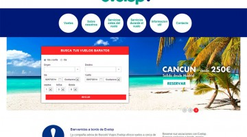 Website Evelop Airlines
