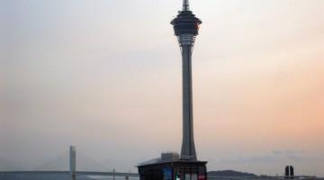 Torre de Macau junto à Taipa