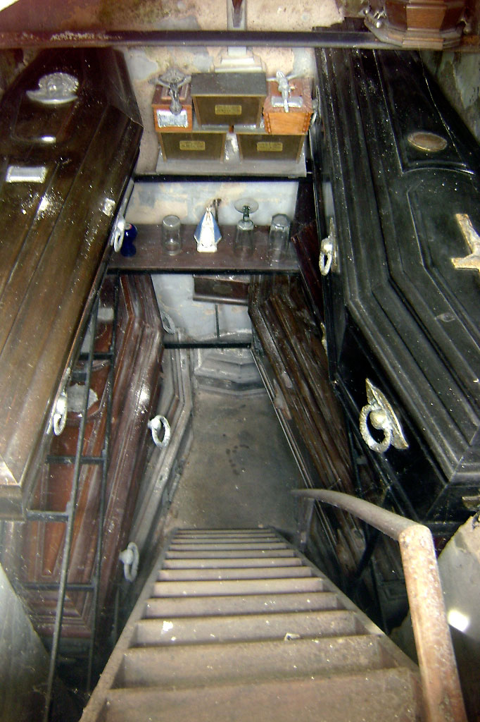 interior de túmulo