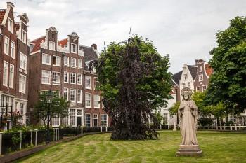 Begijnhof em Amesterdão