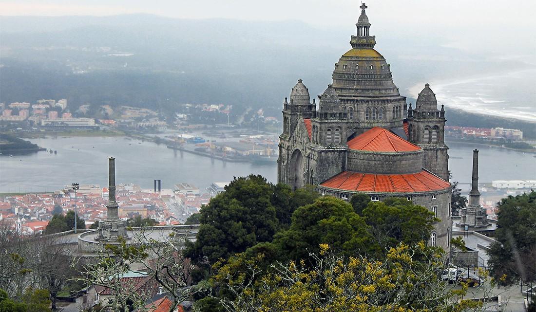 Monte de Santa Luzia em Viana do Castelo