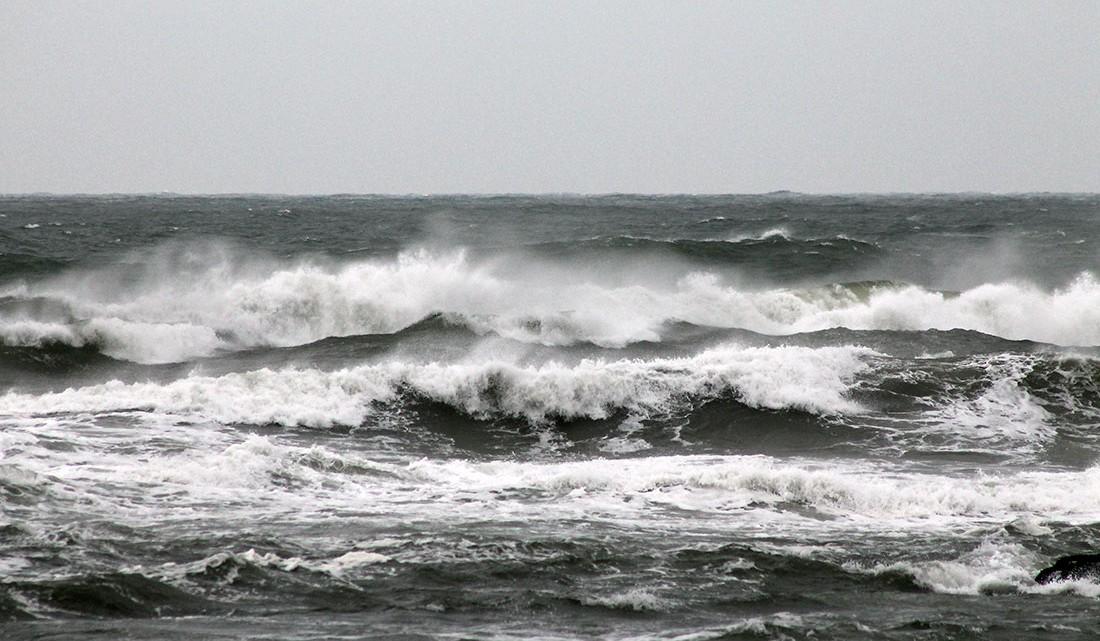 mar na praia do canidelo