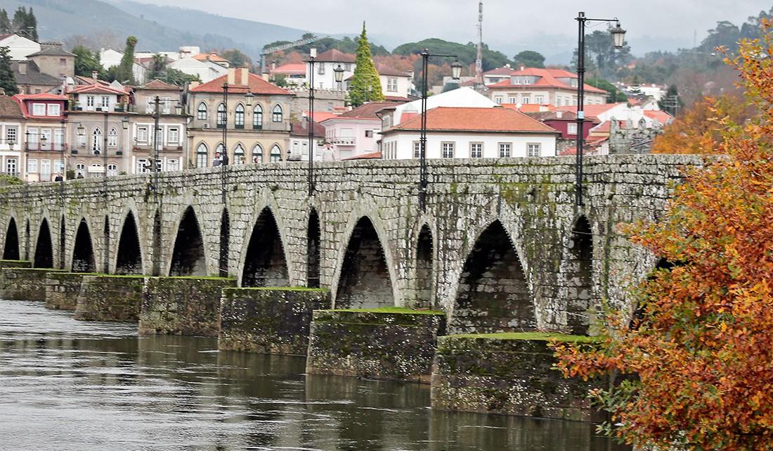 ponte romana na cidade de Ponte de Lima
