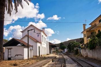 estação ferroviária do cachão