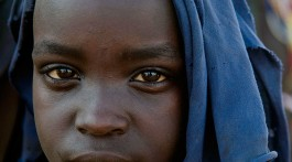 menina da tribo arbore, Etiópia