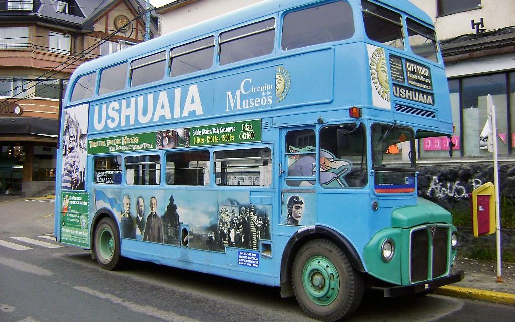 Ônibus turistico Ushuaia