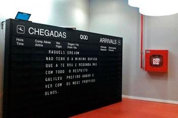 Madeira story Generator no aeroporto do Funchal.