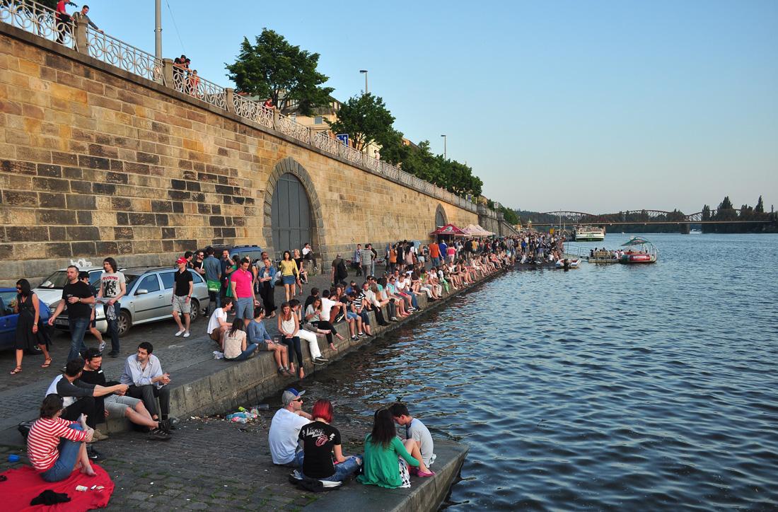 margens do rio Vltava