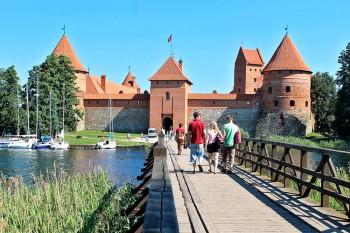 castelo de trakai na lituânia