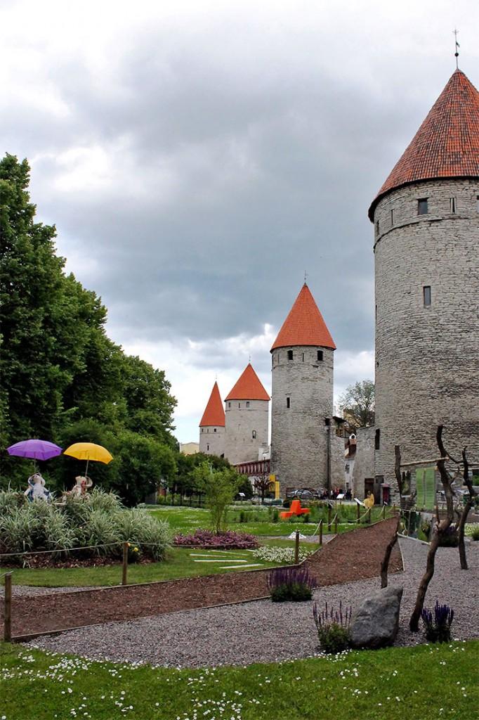 muralhas do castelo de tallin