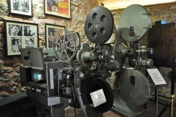 O cinema tem lugar no museu Rahmi Koç