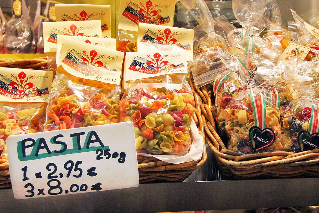 Mercado Central em Florença