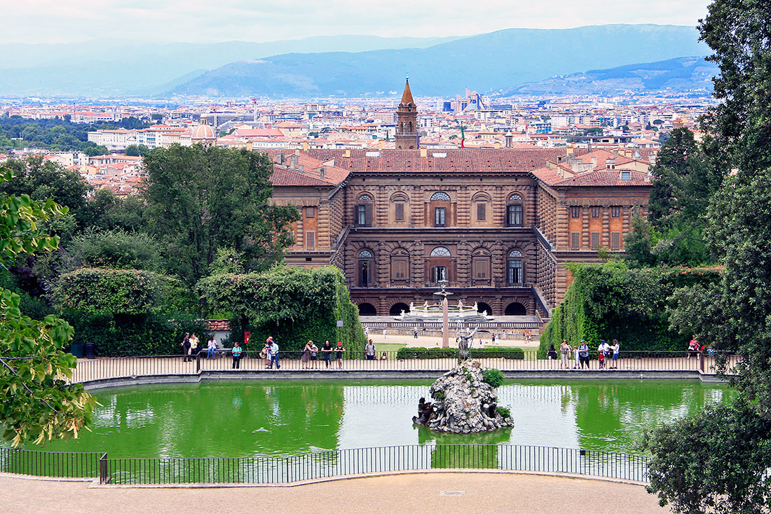 Palácio Pitti e Jardins Boboli