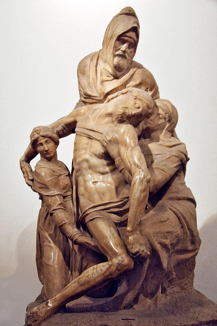 Pieta de Michelangelo em Florença